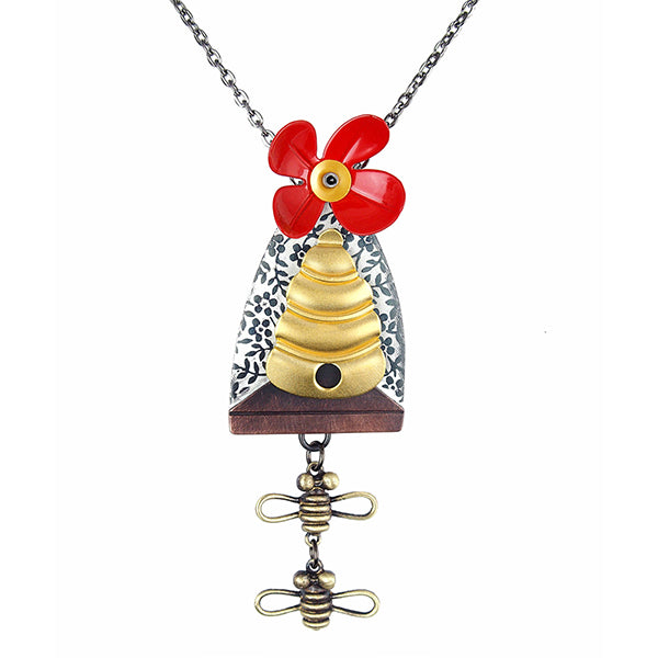 Bee Line Necklace