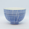 Med. Blue Raffia Cafe au Lait Bowl