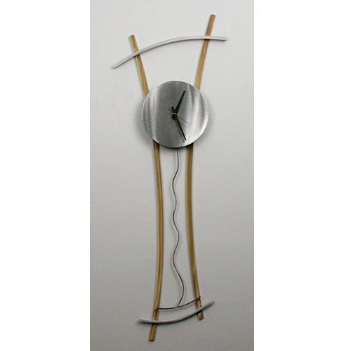 Curves Wall Clock