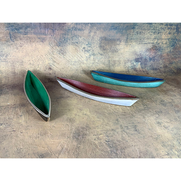 Patina Study #57 Set of 3 Dories