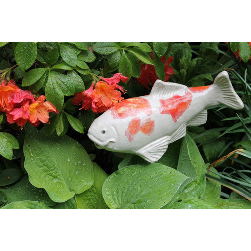 "Large Kohako Koi (14"" Ceramic)"