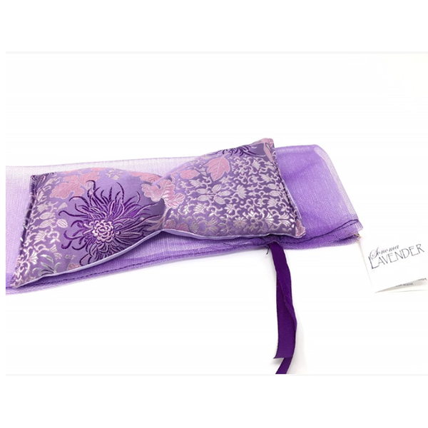 Lavender Eye Pillow in Chrysanthemum Silk