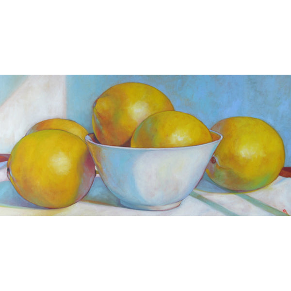 Lemons in Summer Light
