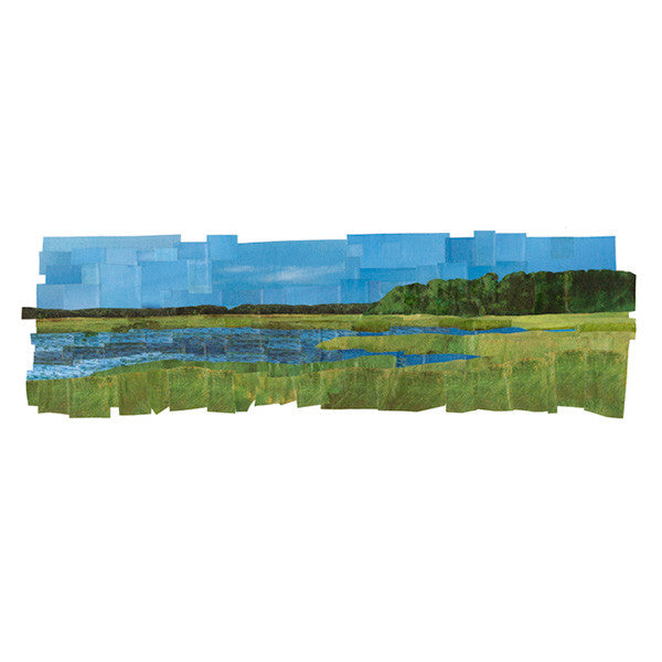 Marsh at Field Point - giclee