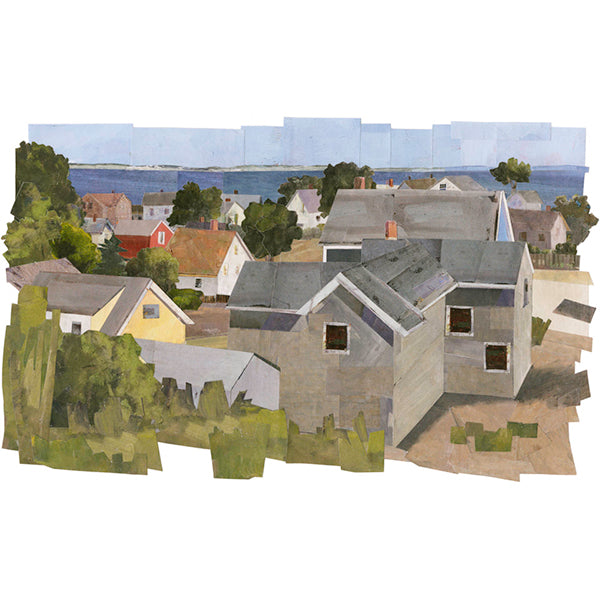 Provincetown Rooftops - giclee print