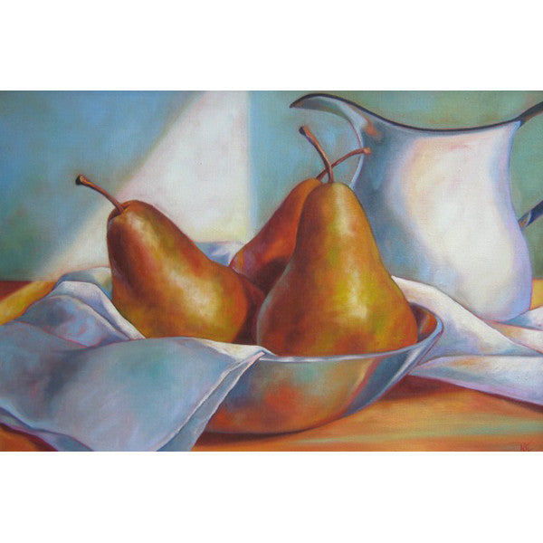 Pears in the Studio