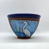 "Egret Bowl - small, by Jennifer Stas, 5"" x 3.5"" front"