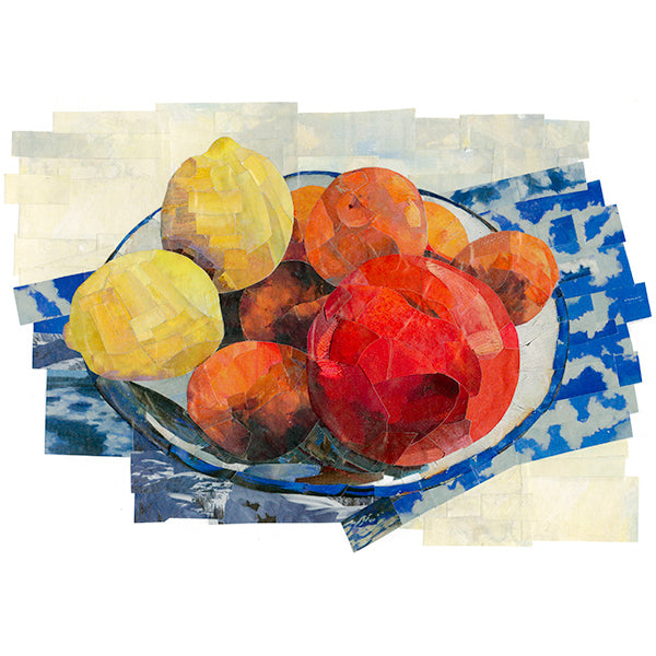 Still Life with Clementines - giclee print