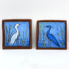Egret Tile and Heron Tile by Jennifer Stas, 5.5""