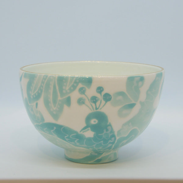 Turquoise Le Bird Cafe au Lait Bowl