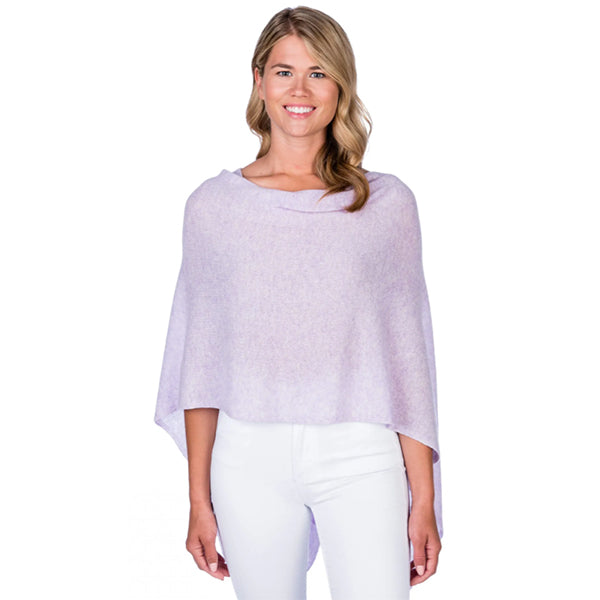 100% Cashmere Draped Topper (multiple colors)