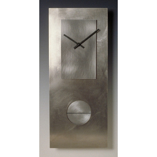 "All Steel 24"" Pendulum Clock"