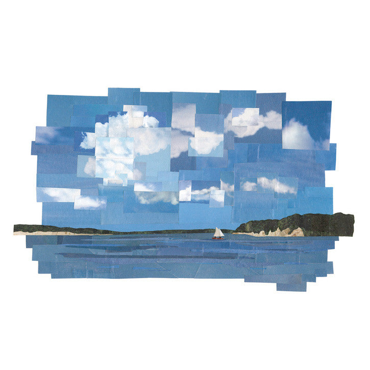 Across the Bay to Great Island - giclee
