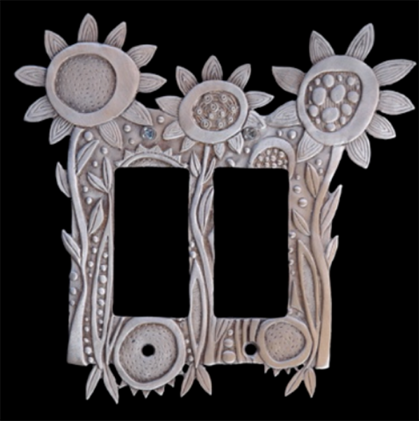 Blooming Flowers switchplate