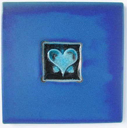 Single Heart Tile-Trivet