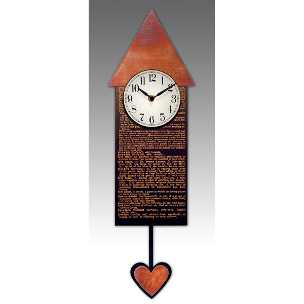 Love Pendulum Clock