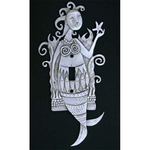 Mermaid switchplate