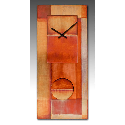 "All-Copper 24"" Pendulum Clock"