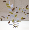 Stylized Leaf Mobile - Peace & Quiet