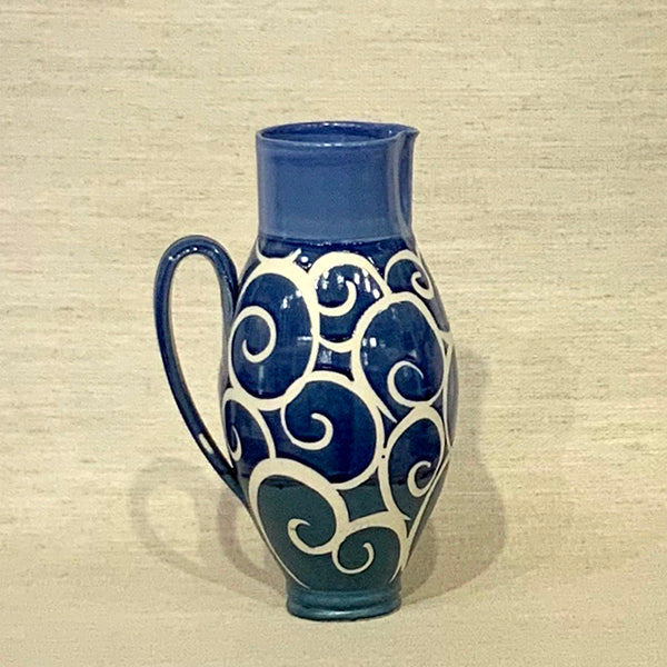 Blue Pitcher 12""