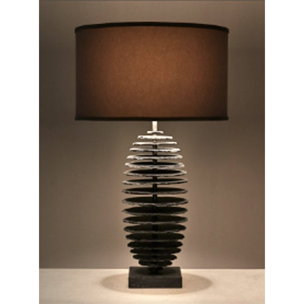 Capsule Table Lamp - slate