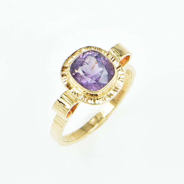 Lavender Ceylon Spinel Ring