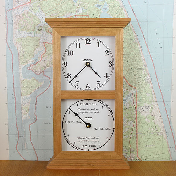 Time & Tide Double Dial Clock