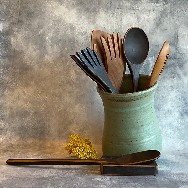 Utensil Holder - Sage