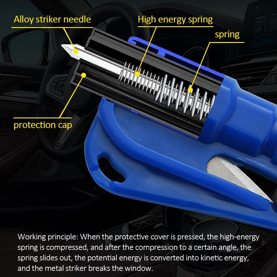 3 in 1 Car Escape and Survival Tool