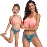 """Frilly Girl"" Mommy and Me Swimwear"
