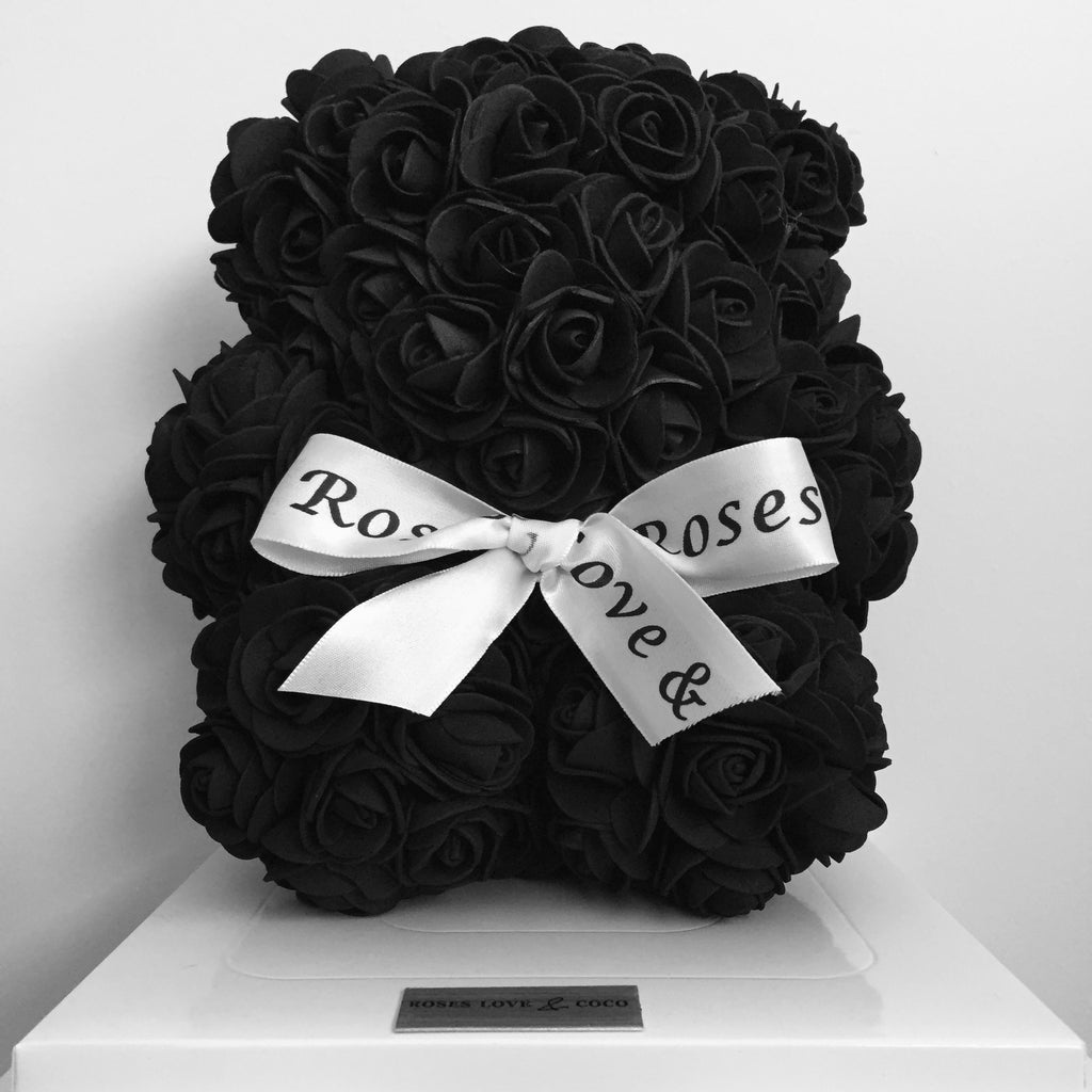 20cm Luxury Rose Bear