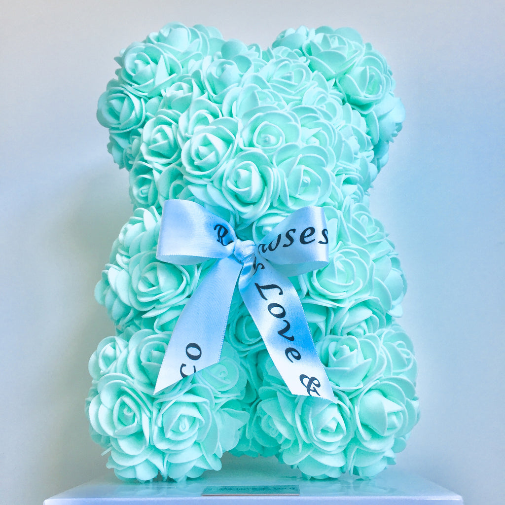 25cm Luxury Rose Bears