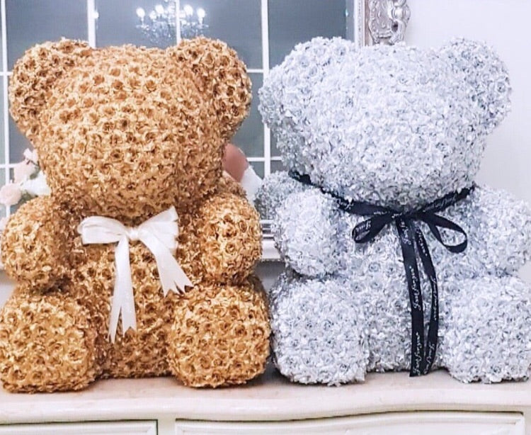 70cm Luxe Edition Rose Bear