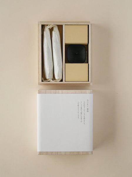 Takazawa medium tohaku candle gift set