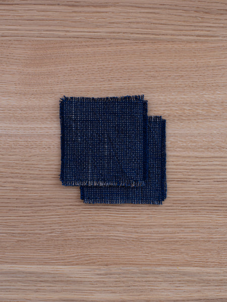 Small Coasters - Deep Indigo (set of 2)