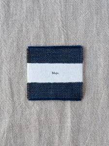 Coasters - Persimmon/Indigo (set of 2)
