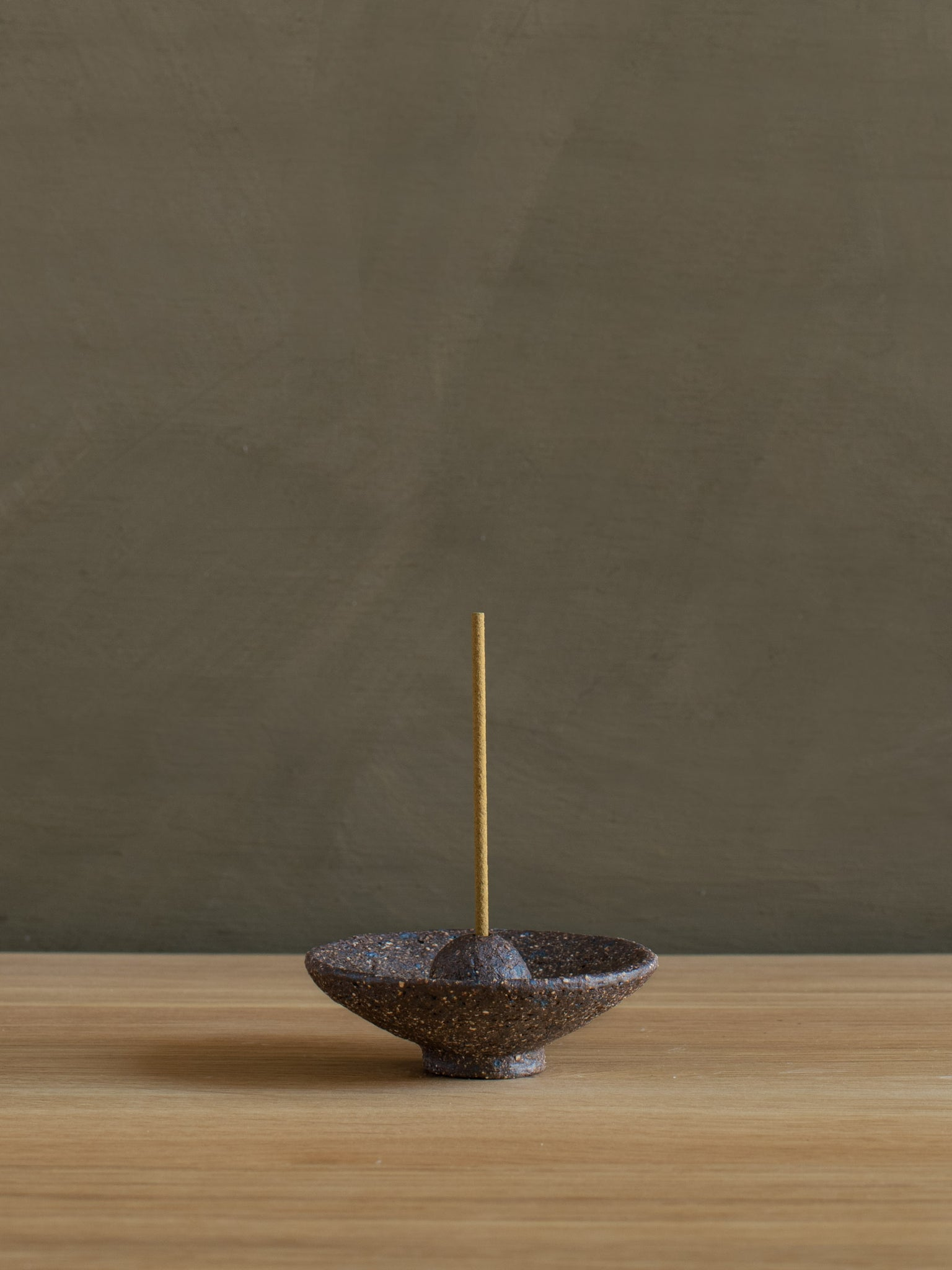 Stoneware Incense Holder - Dish