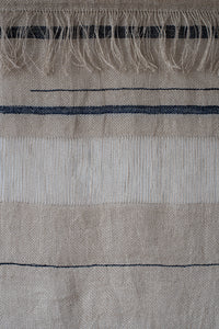 Wall Hanging - Indigo Stripe - Medium