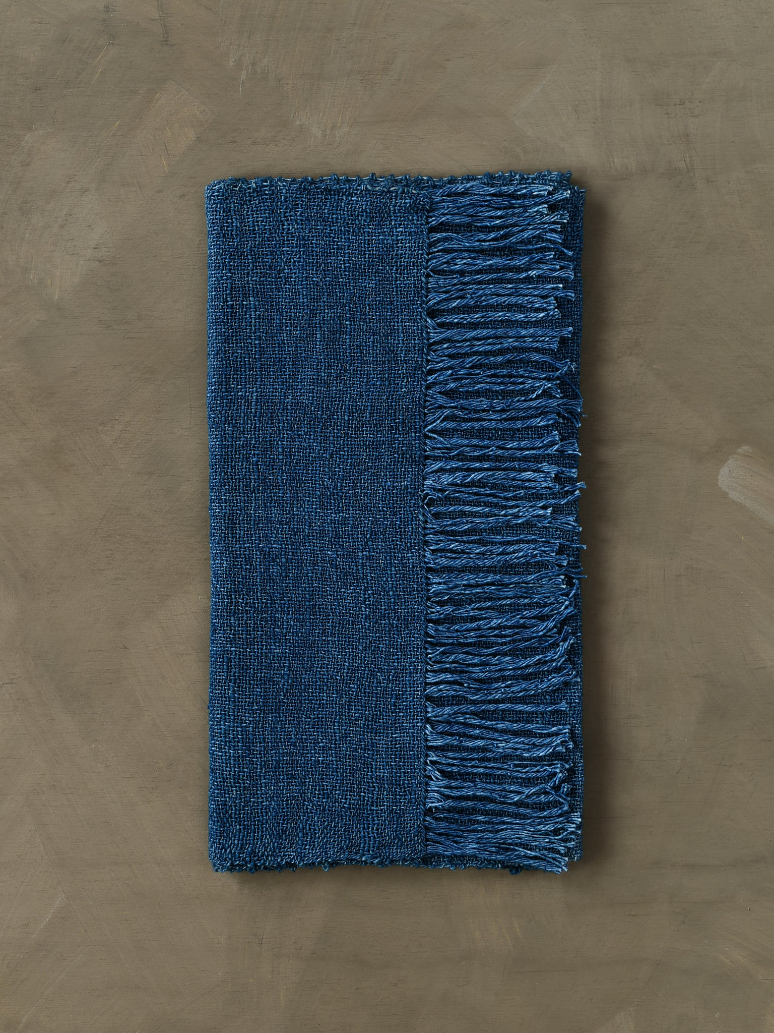Natural Indigo Scarf