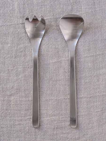 Sori Yanagi Stainless Steel Servers (set)