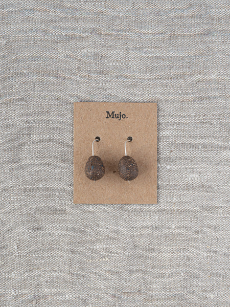 Stoneware Drop Earrings - Drops