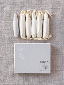 Tohaku Candles - Small (set of 6)