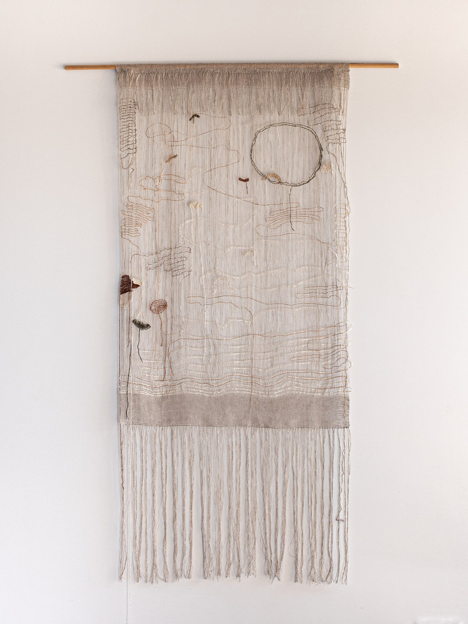 Wall Hanging – 'Study of Line'