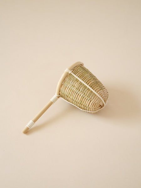 Japanese artisan bamboo tea strainer medium