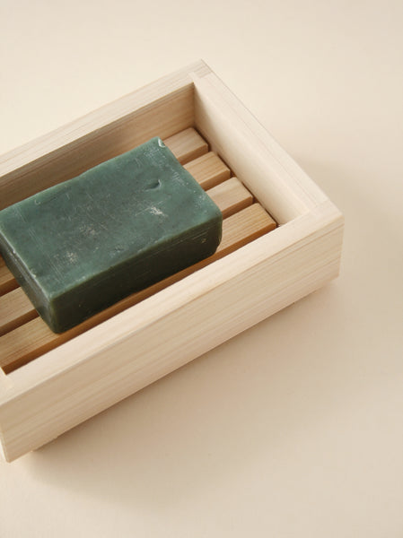 Hinoki Cypress Soap Dish