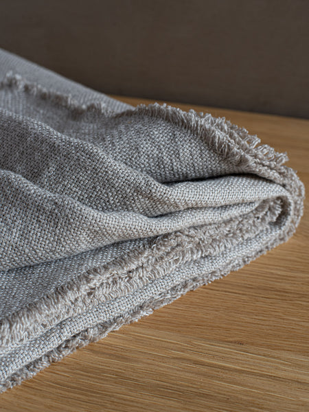 Lithuanian Linen Throw Blanket