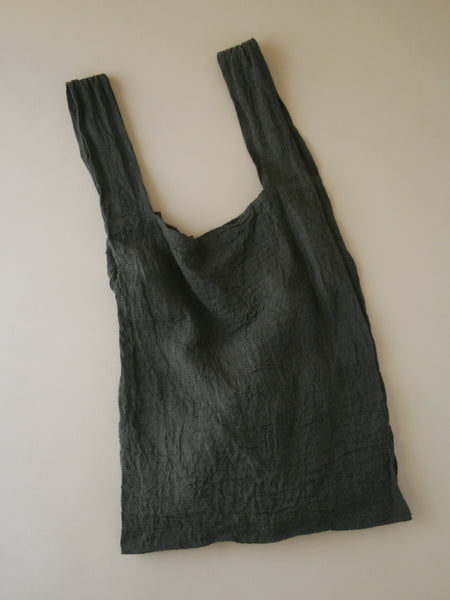 Shopper Bag Large - Olive Linen