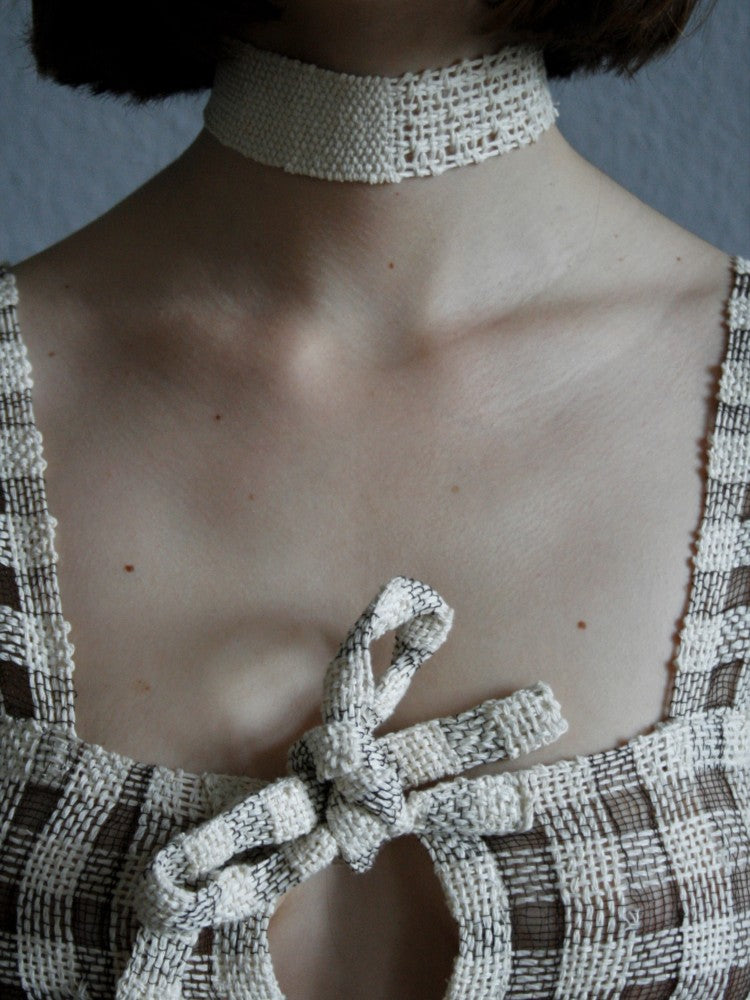 Split Paper Collar - Off White