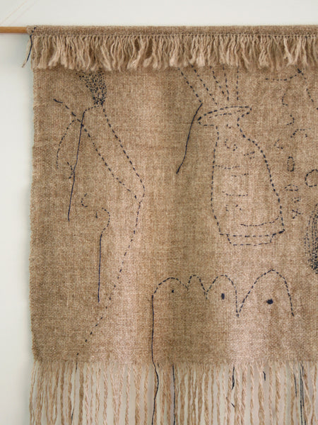 Wall Hanging - Wool & Silk
