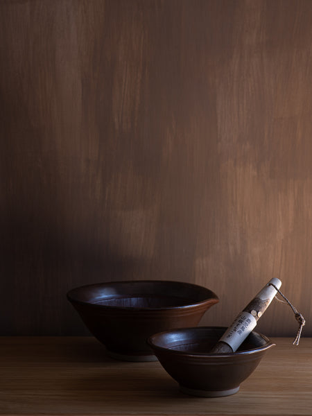 Iwami Mortar & Sansho Pestle Set - Small